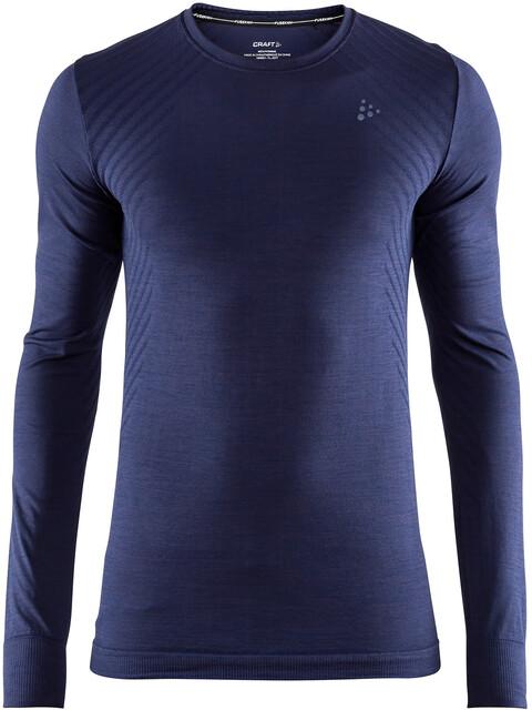 Craft Fuseknit Comfort Round-Neck LS Shirt Men maritime